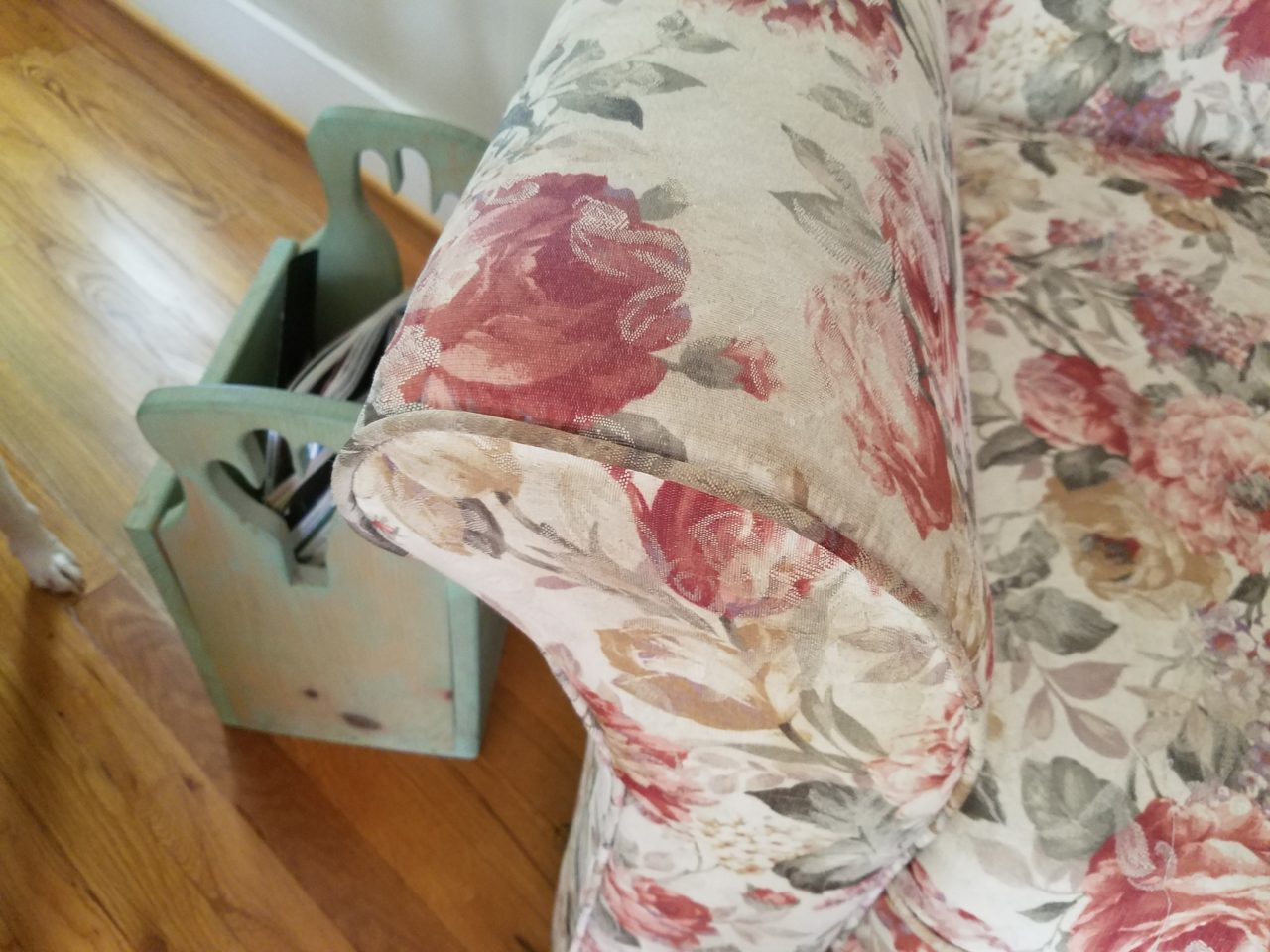 Couch Before & after photos